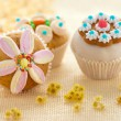 Wiosenne babeczki - zajączki czy kwiatuszki?
