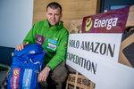 Marcin Gienieczko przed wyruszeniem na Energa Solo Amazon Expedition - 5