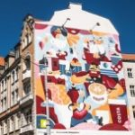 Koziołki w sercu Poznania na urodziny COSTA COFFEE